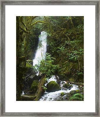 Merriman Falls Framed Print by Wilbur Young
