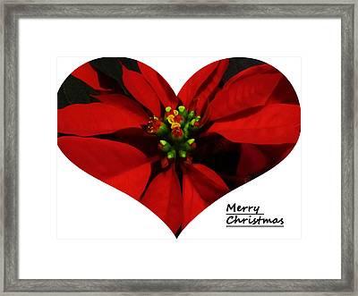 Merry Christmas All Framed Print