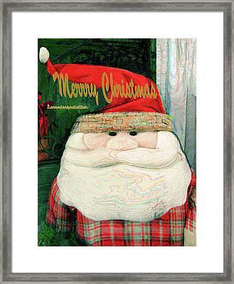 Merry Christmas Art 23 Framed Print