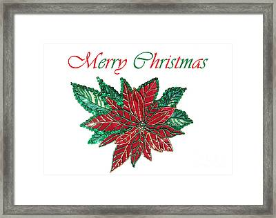 Merry Christmas - Image 01 Framed Print