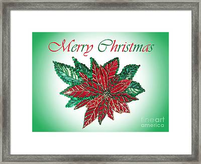 Merry Christmas - Image 02 Framed Print