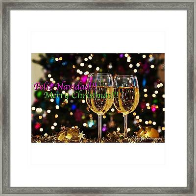 Merry Christmas! #juansilvaphotos Framed Print