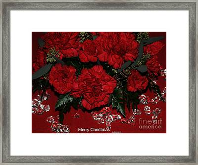 Merry Christmas Framed Print by Kathleen Struckle