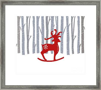 Merry Christmas Framed Print by Kathrin Legg