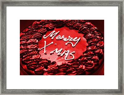 Merry Christmas Framed Print by Sydney Alvares