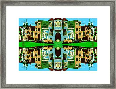 Merry Christmas Tales Framed Print by Art America Gallery Peter Potter