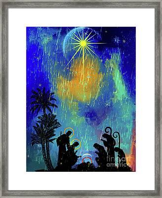 Merry Christmas To All. Framed Print by Andrzej Szczerski