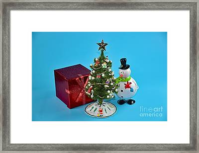 Merry Christmas To You Framed Print by Ray Shrewsberry