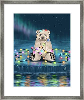 Merry Christmas  Framed Print by Veronica Minozzi