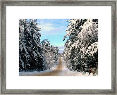 Merry Christmas,happy Holidays Framed Print