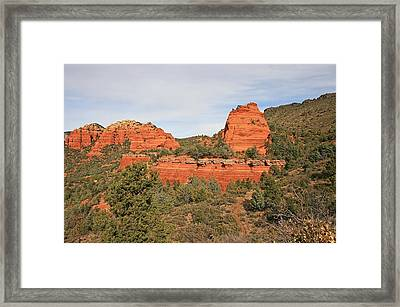 Merry-go-round Rock Framed Print by Gary Kaylor