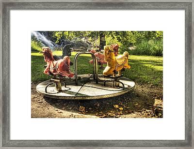 Merry-go-round Framed Print by Tamyra Ayles