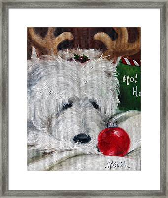 Merry Ho Ho Framed Print by Mary Sparrow