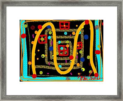 Merry Kissmass Framed Print