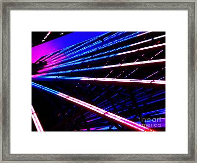 Framed Print featuring the photograph Merrygoround by Vanessa Palomino
