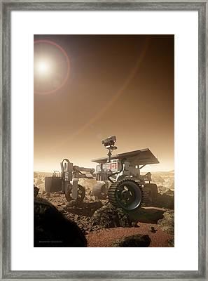 Mers Rover Framed Print by Bryan Versteeg