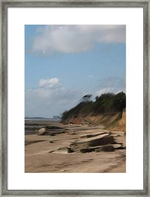 Mersea Island Framed Print by Angelina Whittaker Cook