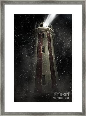 Mersey Bluff Lighthouse In Devonport. Fine Art Framed Print by Jorgo Photography - Wall Art Gallery