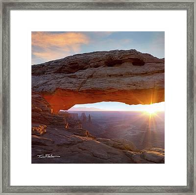 Mesa Arch, Canyonlands, Utah Framed Print