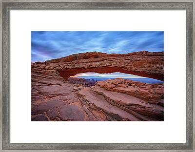 Mesa Arch Framed Print by Rick Berk