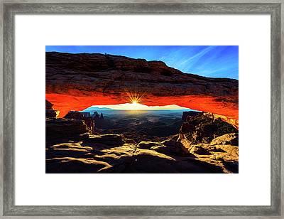 Mesa Arch Sunrise Framed Print