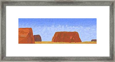 Mesa Framed Print by Bruce