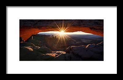 Morning Light Framed Prints