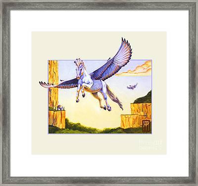 Mesa Pegasus Framed Print by Melissa A Benson