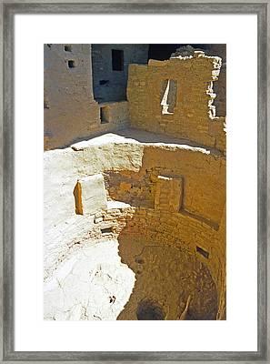 Mesa Verde 17 Framed Print by Steve Ohlsen