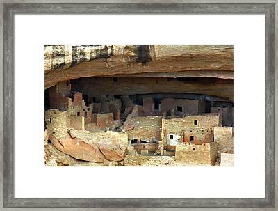Mesa Verde Framed Print by Marilyn Hunt