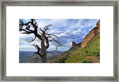 Mesa Verde Mood Framed Print