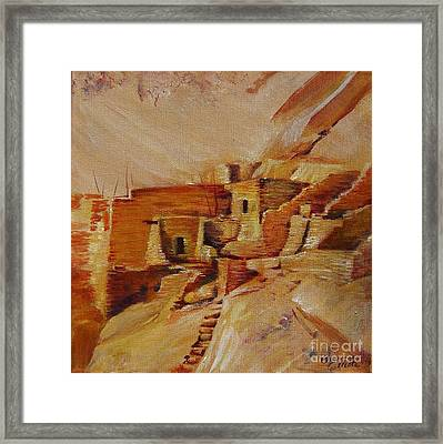Mesa Verde Framed Print by Summer Celeste