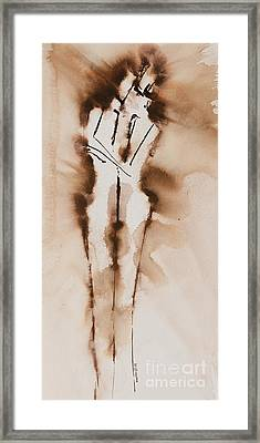 Mesh II  His Divine Love Series No. 1285 Framed Print