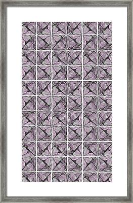 Mesh Wall Framed Print by Marcile Powers