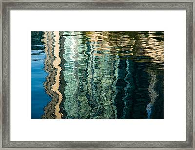 Mesmerizing Abstract Reflections Two Framed Print