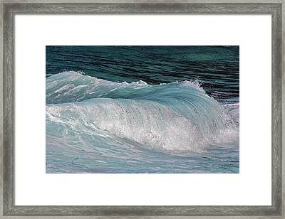 Mesmerizing Wave Framed Print
