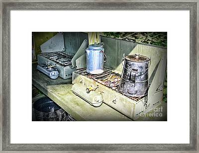 Mess Hall Framed Print by Paul Ward