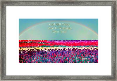 Message From The Other Side Framed Print