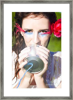 Message Of Love Framed Print by Jorgo Photography - Wall Art Gallery