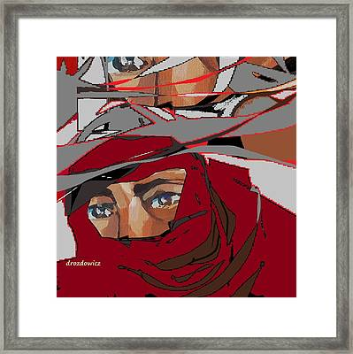 Delivery Framed Print