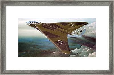 Messerschmidt Me P-1108 II Framed Print by Peter Ring