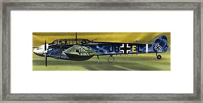 Messerschmitt Framed Print by Wilf Hardy