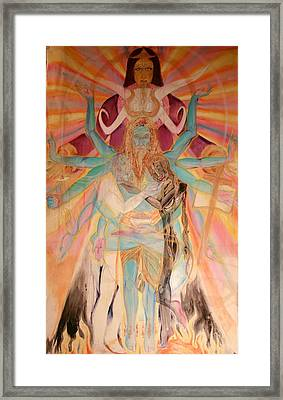 Messiah Framed Print by Brian c Baker