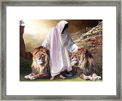 Messiah Israel And Judah Framed Print by Bill Stephens