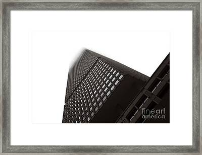 Met Life Angles Framed Print by John Rizzuto