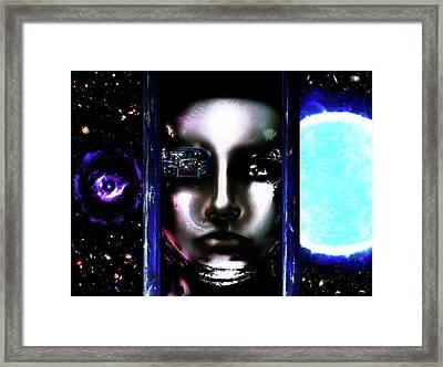 Meta #8 Framed Print