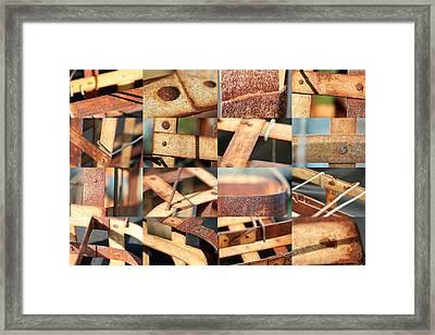 Metal Baskets Framed Print by Robert Glover