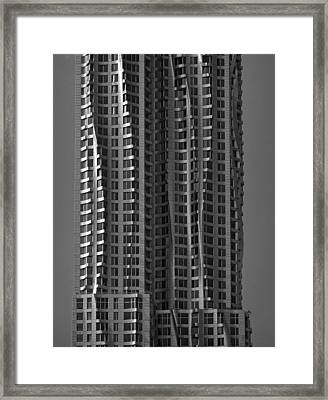 Metal Clad Building Framed Print
