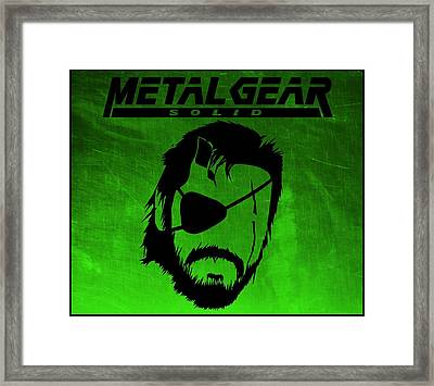 Metal Gear Solid Framed Print by Kyle West