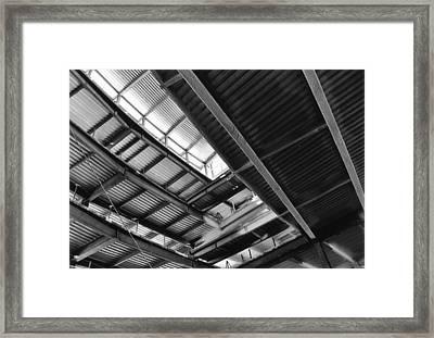 Metal Jungle 1 Framed Print by Jeff Porter